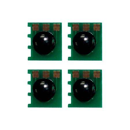 Kit 4 Chips HP CE270A | 271A | 272A | 273A | 650A | CMYK