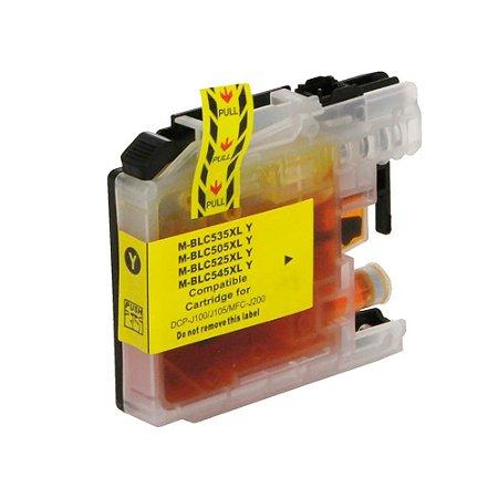 Cartucho para Brother LC505 | DCP-J100 | MFC-J200 Yellow Compatível 14ml