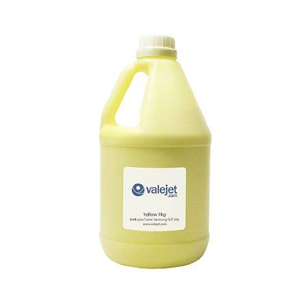 Refil de Toner para Samsung CLP 300   315   325   365 Yellow 1kg