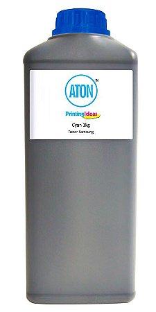 Refil de Toner para Samsung CLP 300 High definition ATON Cyan 1kg