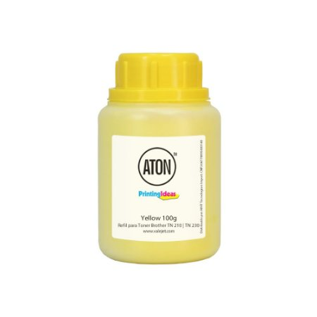 Refil para Brother TN 210    TN 230 High Definition ATON Yellow 100g