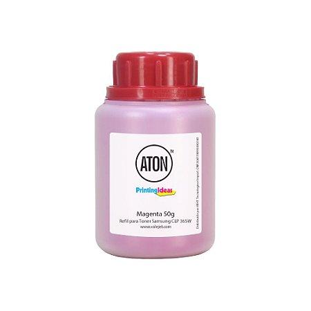 Refil de Toner para Samsung CLP 365W | CLX 3305 ATON Magenta 50g