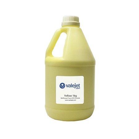 Refil para Toner HP CP4525DN   CE262A Yellow 1kg