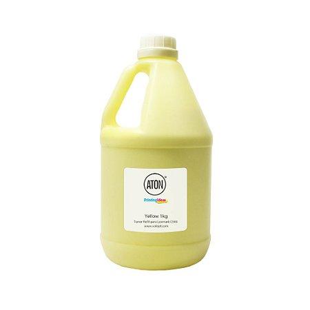 Refil de Toner Lexmark C500 | C500N | X500 | X500N Yellow 1kg Aton