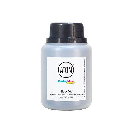 Refil de Toner Panasonic FAT400A   MB1500   MB1520 Black 70g Aton
