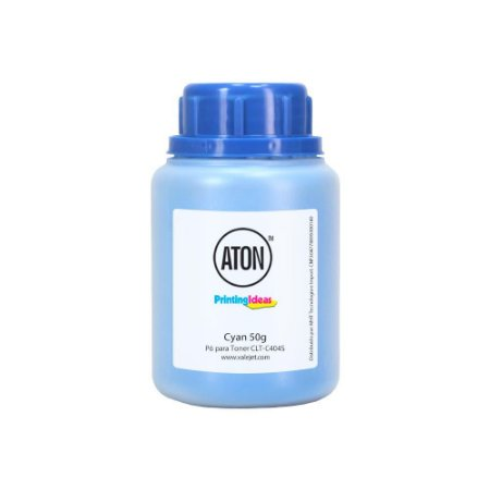 Refil de Toner para Samsung CLT-C404S | C480W | C430W Cyan 50g Aton