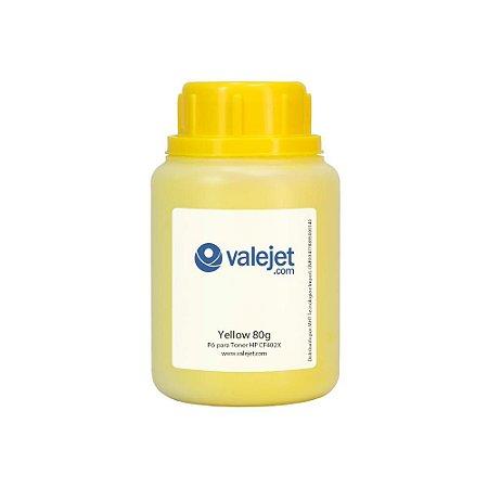 Refil para Toner HP 252n | CF402X Yellow 80g Valejet