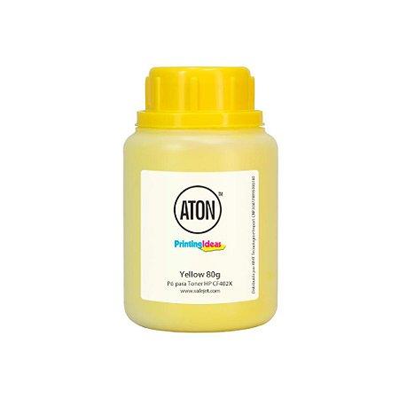 Refil para Toner HP 252n | CF402X Yellow 80g Aton