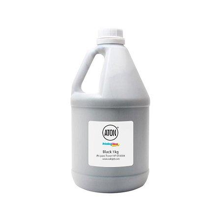 Refil para Toner HP 252n | CF400X Black 1Kg Aton