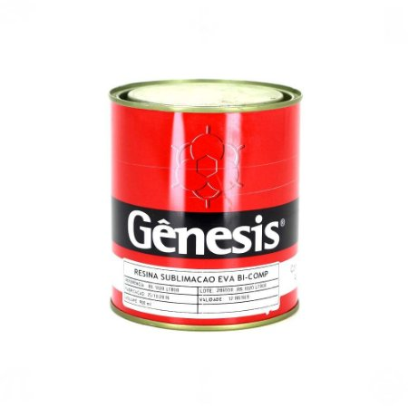 Resina para Sublimação EVA Bi Componente Gênesis RS.1020 900ml