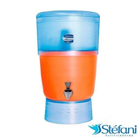 Filtro de Água Advance Plus Stéfani 2 Velas Tripla Ação e Boia 8 Litros