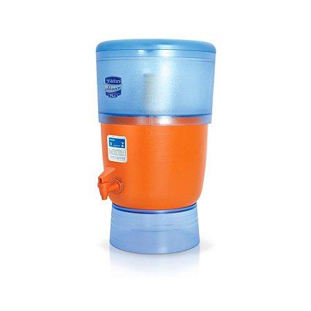 Filtro de Água Advance Plus Stéfani com 3 Velas e Boia 10 Litros