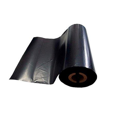 Kit 5 Ribbons Cera para Impressoras Térmicas Zebra TLP 2844 110mm x 74m