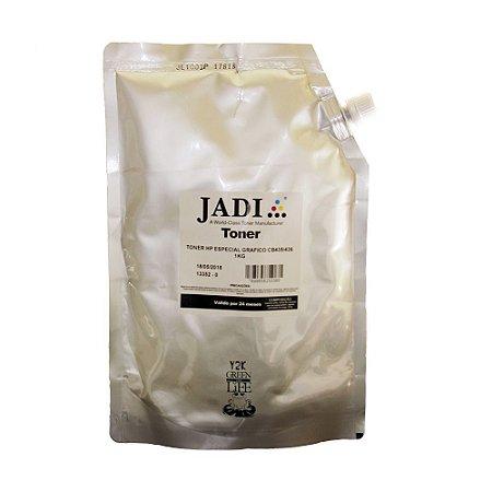 Bag Refil para Toner HP Químico Monocromático CB435A   435   35a 1kg