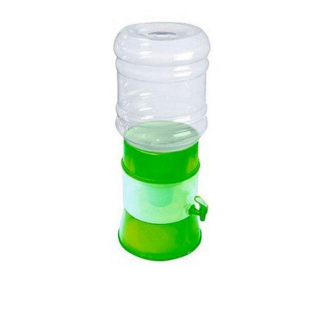 Kit Filtro de Água Gplus Verde + Vela Cerâmica Tradicional Sap Filtros