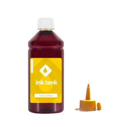 TINTA CORANTE PARA EPSON T504 BULK INK YELLOW 500 ML - INK TANK