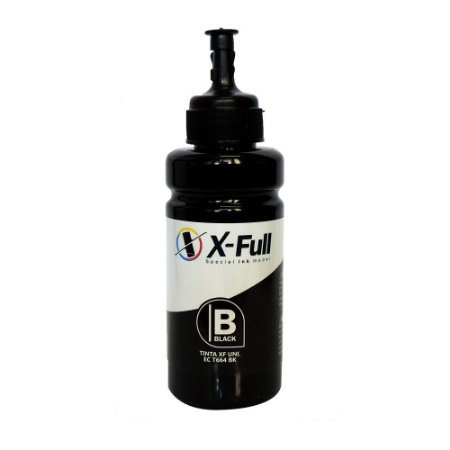 TINTA PARA EPSON L550 CORANTE XFULL BLACK 100ML (SEM CAIXA)