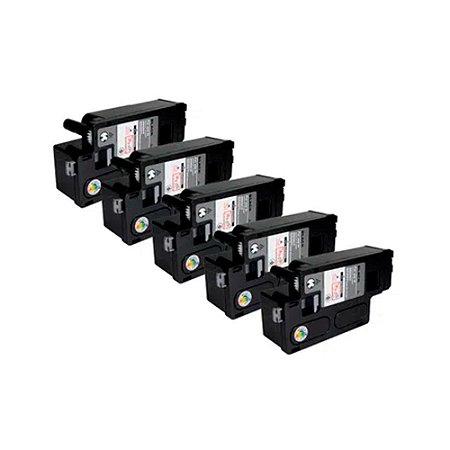 Kit 5 Toner Xerox Phaser 6000   Phaser 6010 Black Compatível