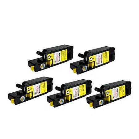 Kit 5 Toner Xerox Phaser 6010 | 6000 Yellow Compatível