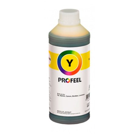 Tinta para Epson L395 Yellow Pigmentada 1 litro PROFEEL