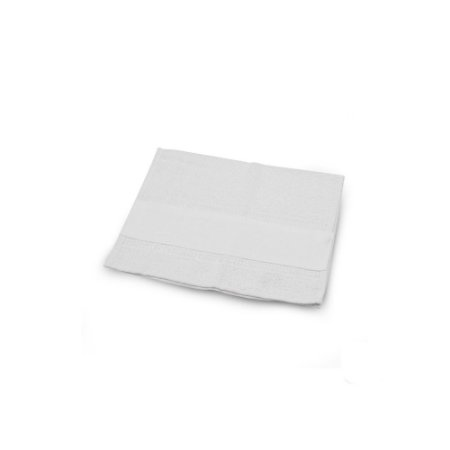 Toalha Branca de Mão Faixa Sublimavel 37,5x28