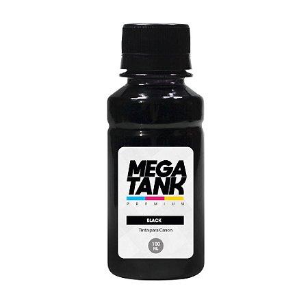 Tinta para Canon G3102 Black Pigmentada 100ml Mega Tank