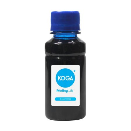 Tinta Epson Bulk Ink L3118 Cyan Corante 100ml Koga