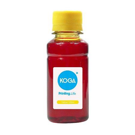 Tinta para Epson L3110 Bulk Ink Yellow 100ml Corante Koga