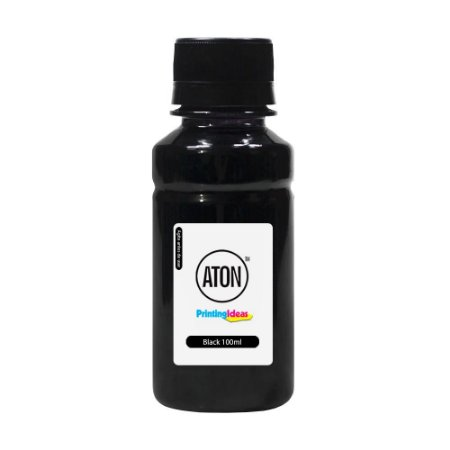 Tinta para Cartucho HP 670 Black Pigmentada 100ml Aton