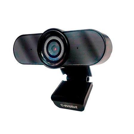 Webcam com Microfone Eyesight EO-01 USB Evolut