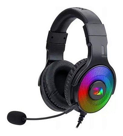 Headset Pandora 2 Rgb, H350rgb-1 Preto - Redragon