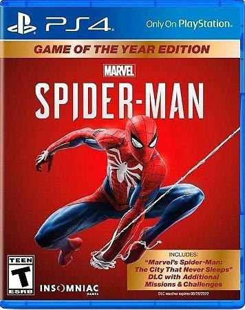 Marvel's Spider-man Goty Edition - Ps4 - Playstation 4