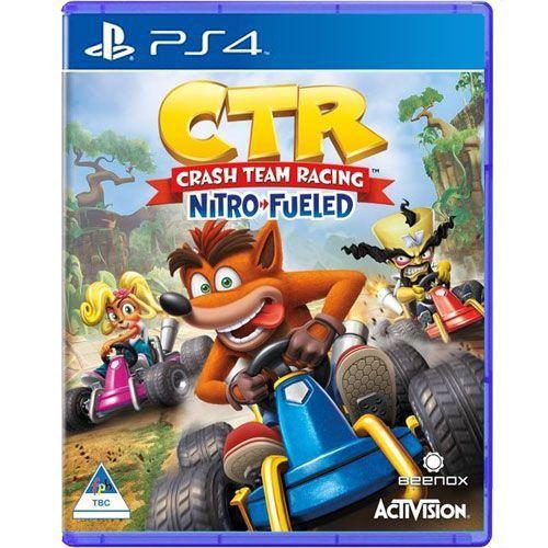Jogo Crash Team Racing Nitro-Fueled PS4