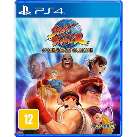 Jogo Street Fighter 30th Anniversary Collection - PS4