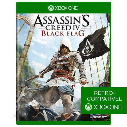 Jogo Assassins Creed Iv: Black Flag - Xbox 360/ Xbox One