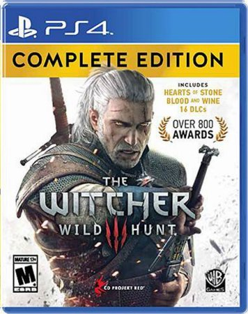 Jogo The Witcher 3 Wild Hunt - PS4
