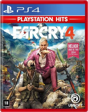 Jogo FarCry 4 - PS4 Hits