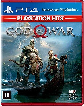 Jogo God Of War - PS4 Hits