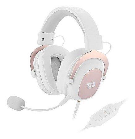 Headset Redragon Zeus2 H510w Branco 7.1
