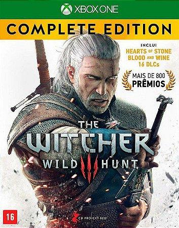 The Witcher Wild Hunt Edicão Completa - XBOX ONE