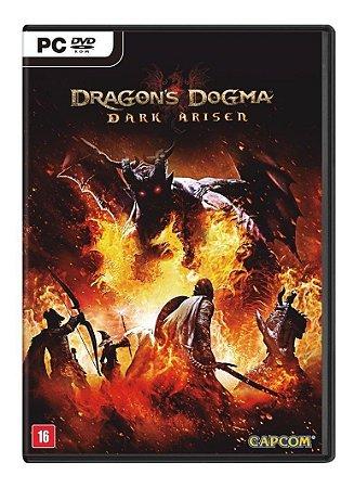 Jogo Dragon's Dogma Dark Arisen Pc Midia Fisica