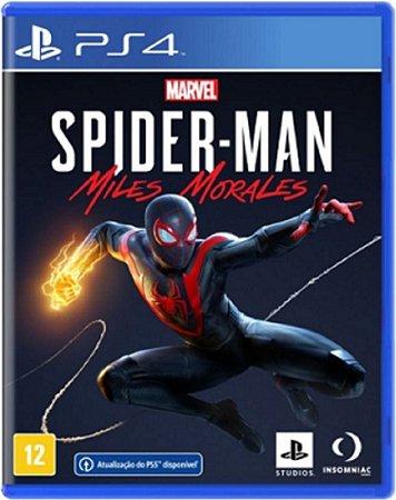 Jogo Spider-man Miles Morales - PS4