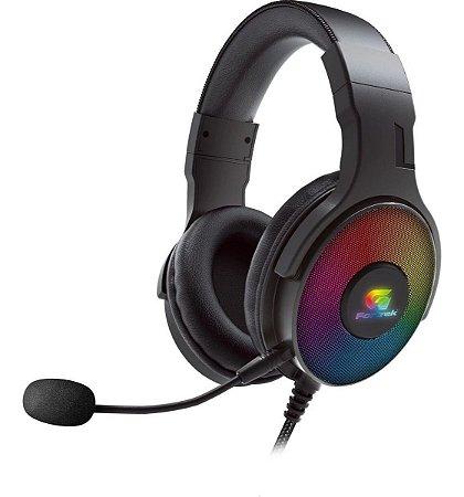 Headset Gamer Fortrek Cruiser LED rainbow