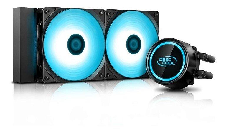 Water Cooler Deepcool Gammaxx L240t Blue 240mm Intel Amd