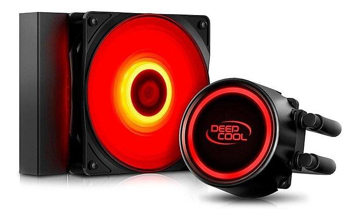 Water Cooler Deepcool Gammaxx L120t Red 120mm (intel E Amd)