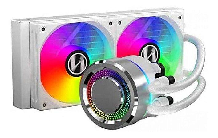 Water Cooler Lian Li Galahad Aio 240 Branco Dual Fan 120mm