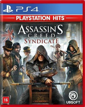 Jogo Assassins Creed Syndicate - Ps4