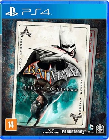 Jogo Batman Return To Arkham - Ps4