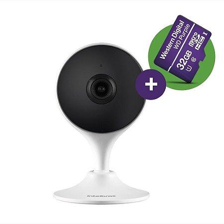 Câmera De Segurança Wifi Full Hd Im3 Microsd 32gb Intelbras