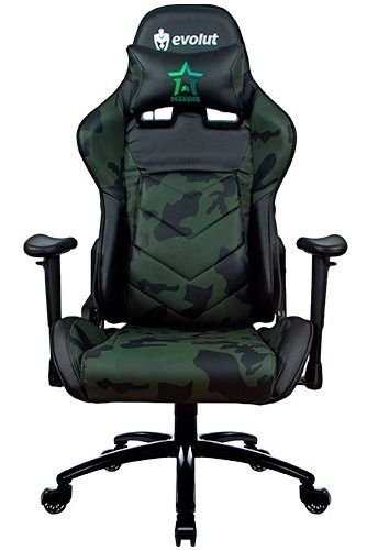 Cadeira Gamer Evolut Eg950 (preta) Camuflada